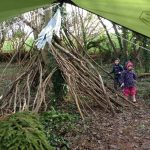 Forest School den