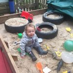 Merry Tots - fun in the sandpit